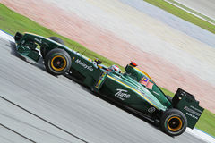 2010 Formula 1 - Malaysian Grand Prix 24. Team: Lotus Stock Images