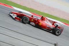 2010 Formula 1 - Malaysian Grand Prix 26. Team: Ferrari Stock Images