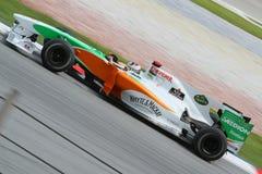 2010 Formula 1 - Malaysian Grand Prix 29. Team: Force India Royalty Free Stock Photography