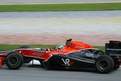 2010 Formula 1 - Malaysian Grand Prix 31. Team: Virgin Royalty Free Stock Photo