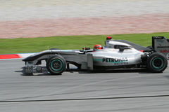 2010 Formule 1 - Maleise Grand Prix 11 Stock Afbeelding