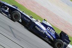 2010 Formule 1 - Maleise Grand Prix 22 Stock Foto's