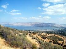 2010 Galilee kinneret jezioro Październik Zdjęcia Royalty Free