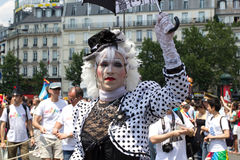 2010 Gay pride in Paris France Stock Photo