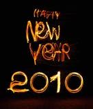 2010 Gelukkig Nieuwjaar Stock Afbeeldingen