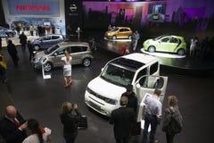 2010 Geneva motorowy Nissan pokazywać Obrazy Stock
