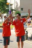 2010 gier olimpijska sztafetowa pochodni młodość Zdjęcie Stock