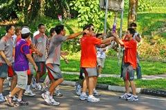 2010 gier olimpijska sztafetowa pochodni młodość Fotografia Royalty Free