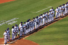 2010 giochi di MLB Taiwan Fotografie Stock
