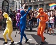 2010 glada london ståtar stolthet Arkivbild
