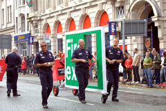 2010 glada manchester ståtar stolthet uk Royaltyfri Foto