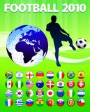 2010 Global Soccer Football Match Royalty Free Stock Photography
