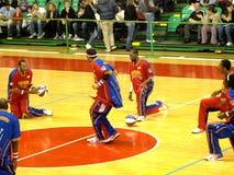 2010 globetrotters Harlem włoska wycieczka turysyczna Zdjęcia Stock