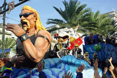 2010 gras mardi新奥尔良 免版税图库摄影