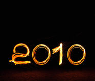 2010 Happy New Year Royalty Free Stock Image
