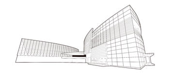 2010 het Paviljoen van de Expo-V.S. van de Wereld van Shanghai Royalty-vrije Stock Afbeelding
