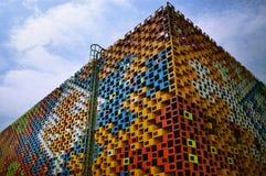 2010 het Paviljoen van Shanghai Expo Servië Royalty-vrije Stock Fotografie
