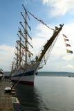 2010 historiska regattahav sänder högväxt Arkivbilder