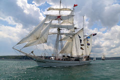 2010 historiska regattahav sänder högväxt Arkivfoto