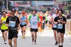 2010 Hong kong maraton obrazy royalty free