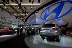 2010 Hyundai Tuscon GLS bij 2010 Autoshow Stock Afbeeldingen