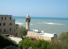 2010 Jaffa minaret Obrazy Stock