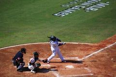 2010 juegos de MLB Taiwán Imágenes de archivo libres de regalías