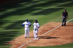 2010 juegos de MLB Taiwán Imagen de archivo