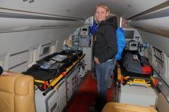 2010 julho 24 Emmen Airshow, Fotos de Stock Royalty Free