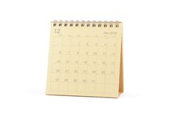 2010 kalender december Arkivbilder