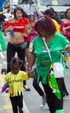2010 karibiska karneval leicester uk Fotografering för Bildbyråer