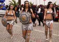 2010 karnawałowych febrary Portugal Zdjęcie Royalty Free