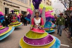 2010 karnawałowych febrary Portugal Zdjęcia Stock