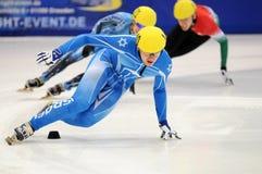2010 Kort spoor Europees kampioenschap Royalty-vrije Stock Foto's