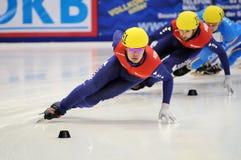 2010 Kort spoor Europees kampioenschap Royalty-vrije Stock Afbeeldingen