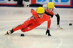 2010 Kort spoor Europees kampioenschap Stock Foto