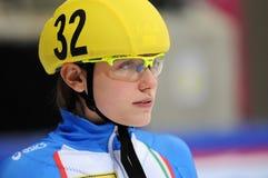 2010 Kort spoor Europees kampioenschap Stock Foto's