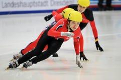 2010 Kort spoor Europees kampioenschap Royalty-vrije Stock Afbeelding
