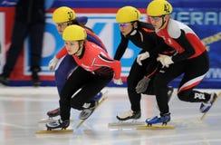 2010 Kort spoor Europees kampioenschap Stock Afbeeldingen
