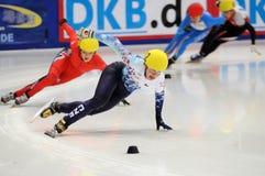 2010 Kort spoor Europees kampioenschap Stock Afbeelding