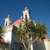 2010 krzyży kapernaum palm zdjęcia royalty free