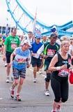 2010 London maraton Fotografia Stock