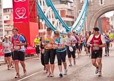 2010 London maraton Obrazy Stock