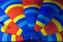 2010 lotniczego balonów górskiej chaty d gorący oex Obrazy Royalty Free