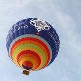 2010 lotniczego balonów górskiej chaty d gorący oex Fotografia Royalty Free