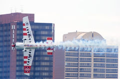 2010 lufttjurcaesars race red Arkivfoto