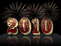 2010 lyckliga nya år Royaltyfri Bild