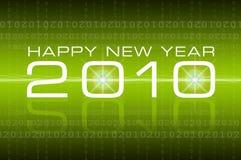 2010 lyckliga nya år Arkivbild