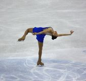 2010 mästerskap figure den åka skridskor världen för isuen Arkivbild