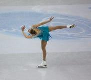 2010 mistrzostw postać łyżwiarski isu świat Zdjęcie Stock